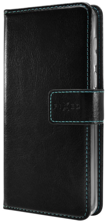 FIXED Opus pouzdro typu kniha pro Honor 6A Pro, černé
