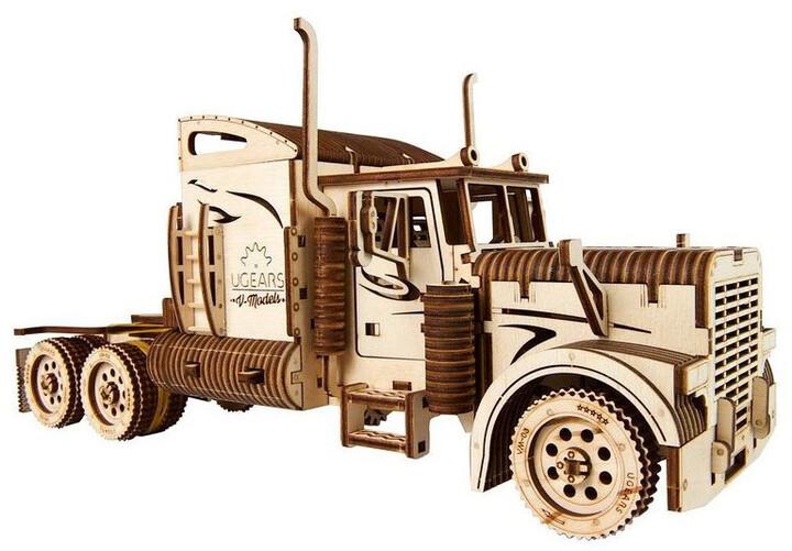 UGEARS stavebnice - Kamion Heavy Boy VM-03 v hodnotě 1800 Kč
