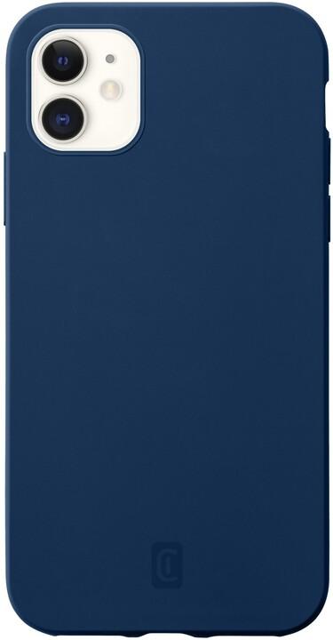 CellularLine silikonový kryt Sensation pro Apple iPhone 12 mini, tmavě modrá