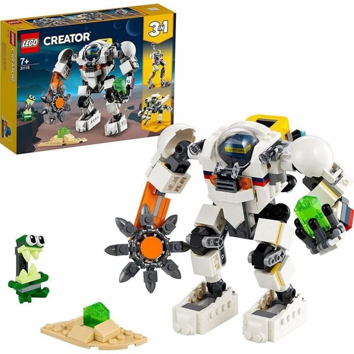 LEGO® Creator 31115 Vesmírný těžební robot