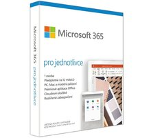 Microsoft 365 pro jednotlivce 1 rok - elektronicky - QQ2-00012