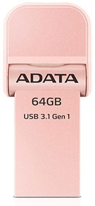 ADATA AI920 64GB růžová