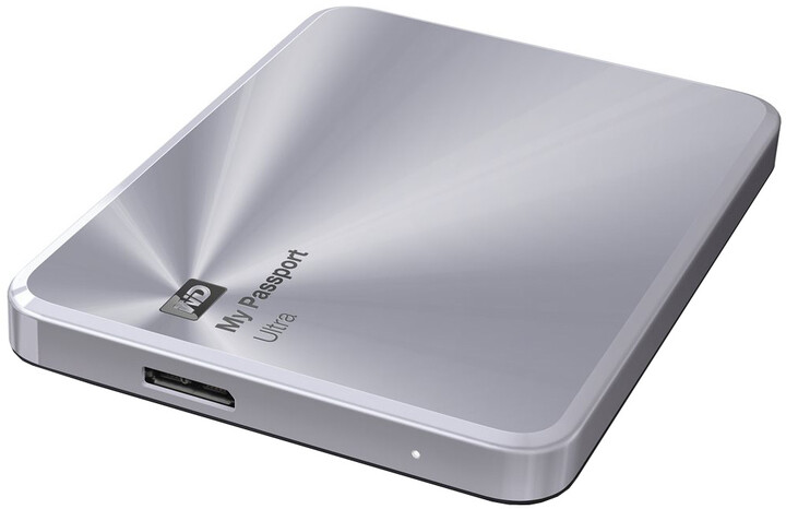 WD My Passport Ultra Metal - 2TB, stříbrná