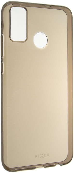 FIXED TPU gelové pouzdro Slim pro Honor 9X Lite, 0.6 mm, kouřová