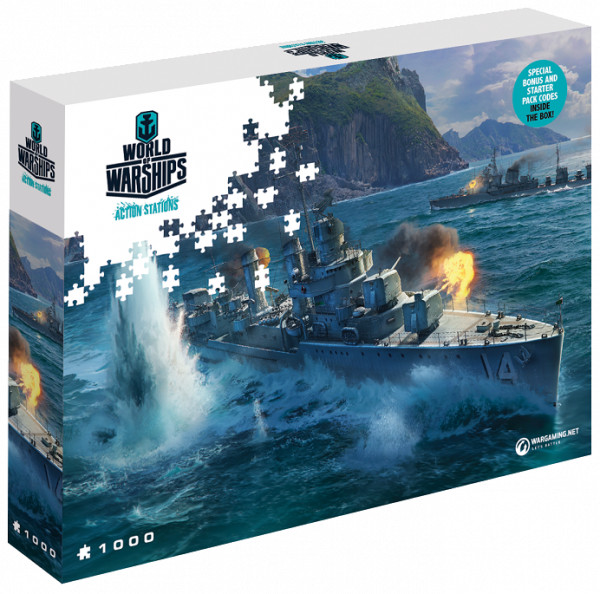 Puzzle World of Warships - Panasijské torpédoborce