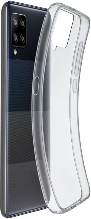 Cellularline extratenký zadní kryt Fine pro Samsung Galaxy A42 (5G), transparentní