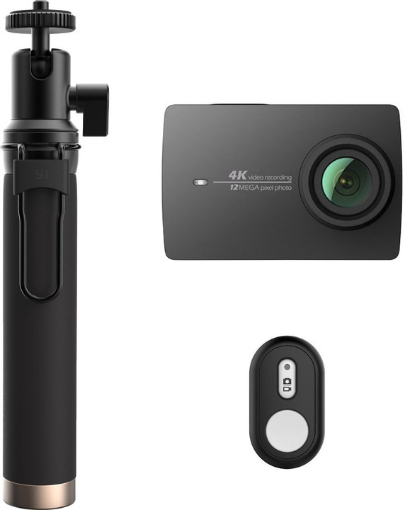 Xiaomi Yi 4K Action Camera 2 Travel Edition, černá
