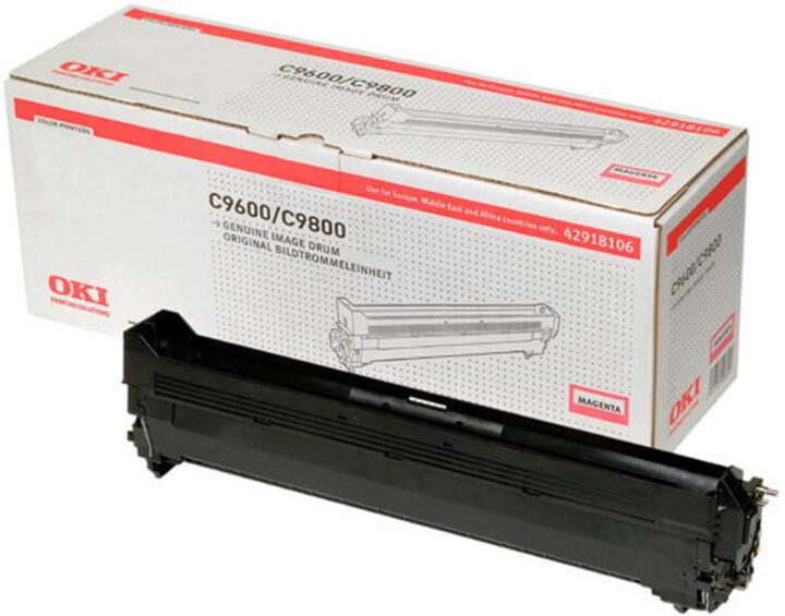 OKI obrazový válec pro žlutý toner do C9600/9800/MFP (30 000 stran)
