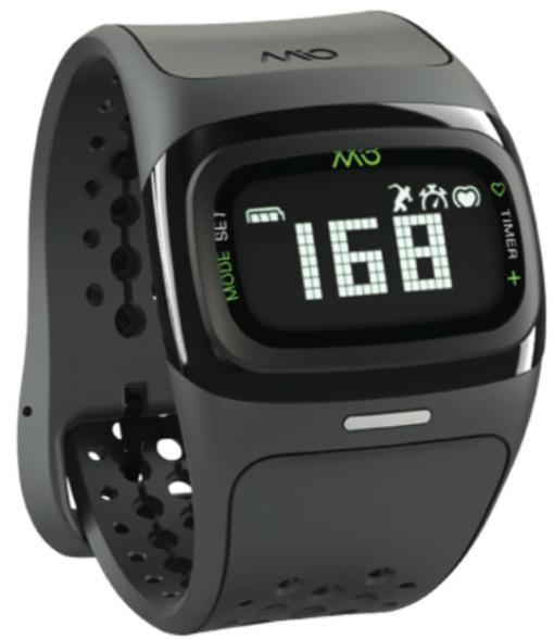 MIO Alpha 2 sportovní hodinky BT, černá