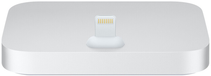 Apple iPhone Lightning Dock, stříbrná