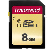 Transcend SDHC 500S 8GB UHS-I U1 - TS8GSDC500S
