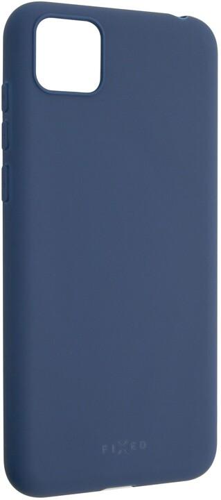 FIXED Story zadní pogumovaný kryt pro Huawei Y5p, modrá