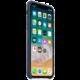 Apple kožený kryt na iPhone X, půlnočně modrá