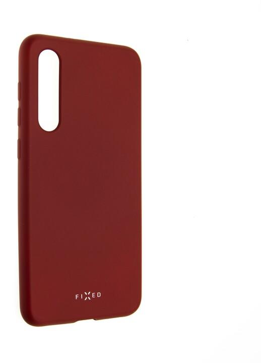 FIXED Story zadní pogumovaný kryt pro Xiaomi Mi9 SE, červený