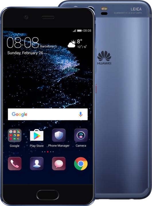 Huawei P10, Dual Sim, modrá