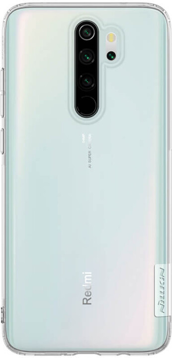 Nillkin Nature TPU kryt pro Xiaomi Redmi Note 8 Pro, transparentní
