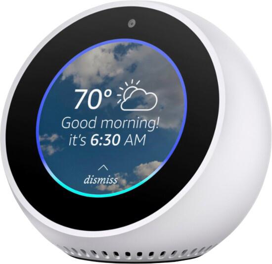 Amazon Echo spot, bílý