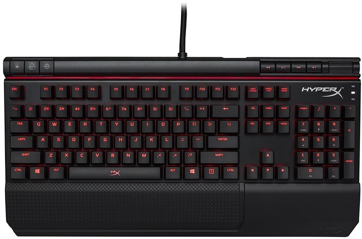 HyperX Alloy Elite, Cherry MX Red, US