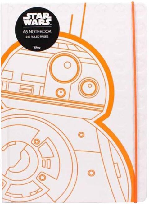 Zápisník Star Wars - BB-8, linkovaný (A5)