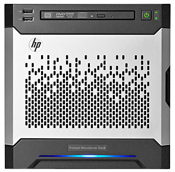 HP ProLiant MicroServer G8, G2020, 4GB, 2x1TB, 150W