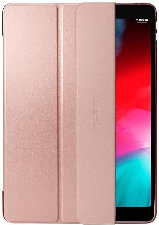 """Spigen ochranné pouzdro Smart Fold Case pro Apple iPad Air 10,5"""", zlato/růžová"""