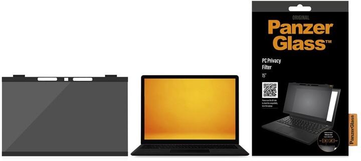"""PanzerGlass Privacy filtr pro zvýšení soukromí k notebooku 15"""""""