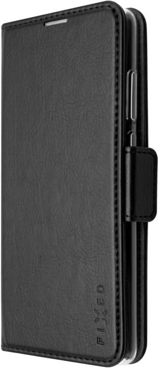 FIXED pouzdro typu kniha Opus pro Motorola Moto G60, černá
