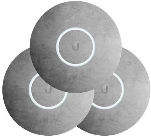 Ubiquiti kryt pro UAP-nanoHD, betonový motiv, 3 kusy