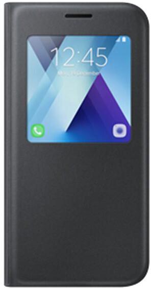 Samsung Galaxy A5 2017 (SM-A520P), flipové pouzdro, S-View, černé