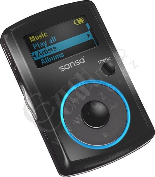 SanDisk Sansa Clip 4GB, černá