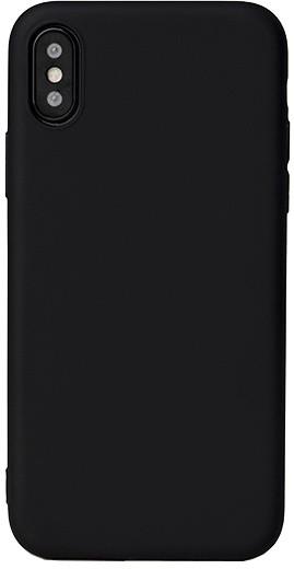 EPICO SILK MATT pružný plastový kryt pro iPhone X - černý
