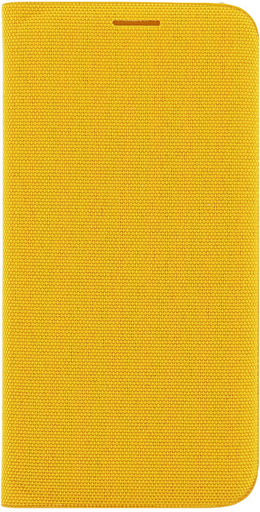 Samsung Wallet pouzdro F-WG925BYE pro G925 Galaxy S6 Edge (EU Blister), žlutá