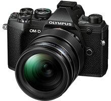 Olympus E-M5 Mark III + 12-40mm PRO, černá/černá - V207090BE020