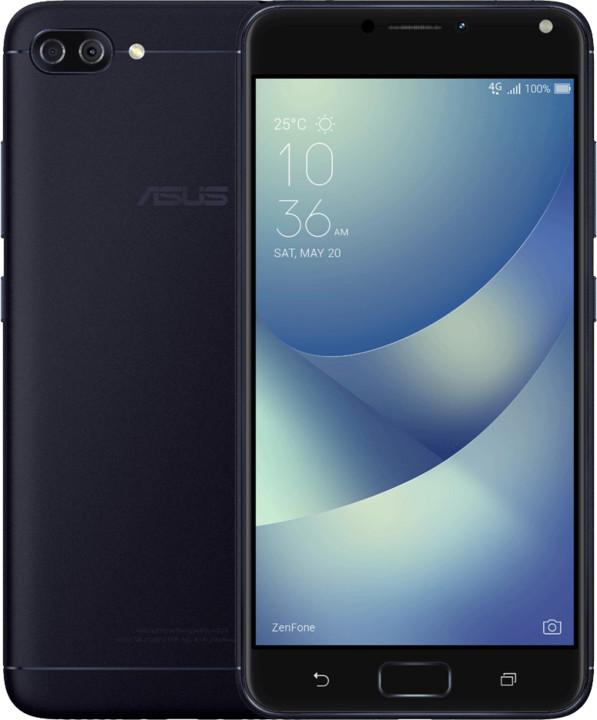 ASUS ZenFone 4 Max ZC554KL-4A025WW, černá