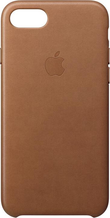 Apple Kožený kryt na iPhone 7/8 – sedlově hnědý