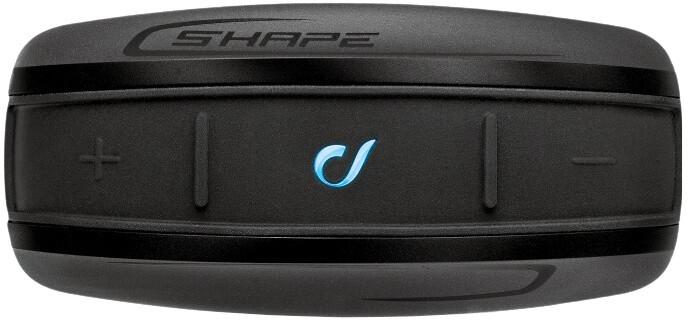 CellularLine Interphone SHAPE Bluetooth handsfree pro uzavřené a otevřené přilby, Single Pack