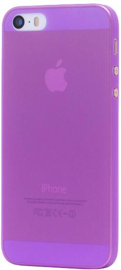 EPICO Plastový kryt pro iPhone 5/5S/SE TWIGGY MATT - fialový