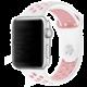 ESES sportovní řemínek 38mm pro Apple Watch, bílo/růžová