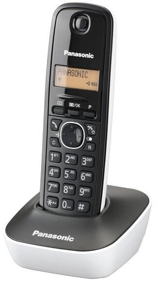 Panasonic DECT KX-TG1611FXW, bílá