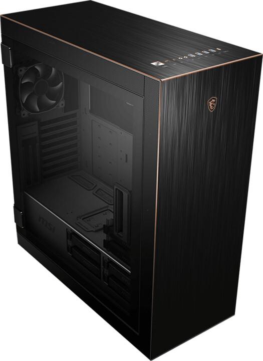 MSI MPG SEKIRA 500G, sklo, černá