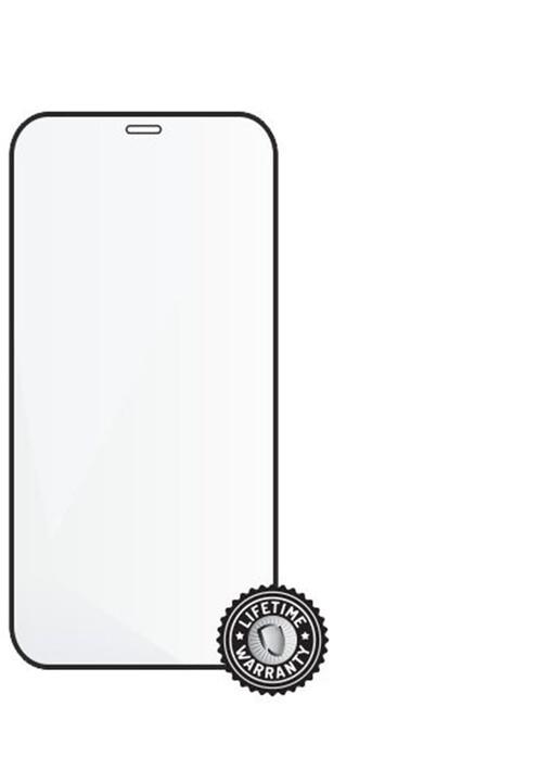 "Screenshield ochrana displeje Tempered Glass pro iPhone 12 mini (5.4""), Full Cover, černá"