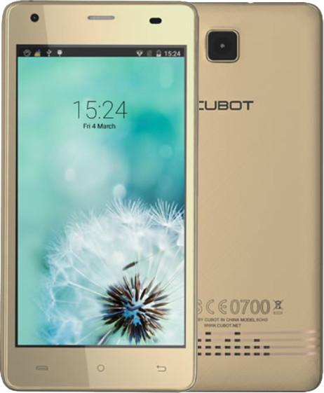 CUBOT Echo 16GB, zlatá
