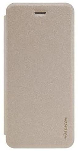 Nillkin Sparkle Folio pouzdro pro iPhone X, Gold