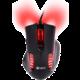 C-TECH GM-17 Empusa, červené LED  + Podložka pod myš CZC G-Vision Dark, L (v ceně 250 Kč)
