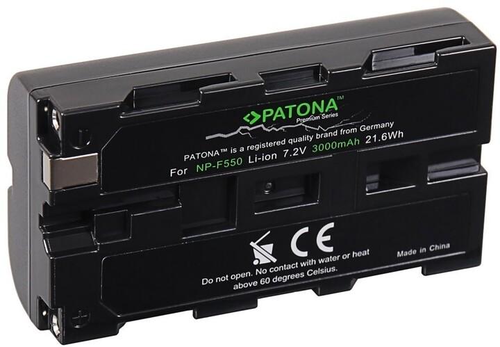 Patona baterie pro Sony NP-F550 3000mAh Li-Ion 7,2V Premium