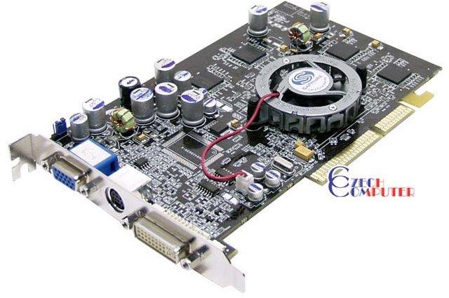 Sapphire Atlantis ATI Radeon 9600XT 128MB VIVO