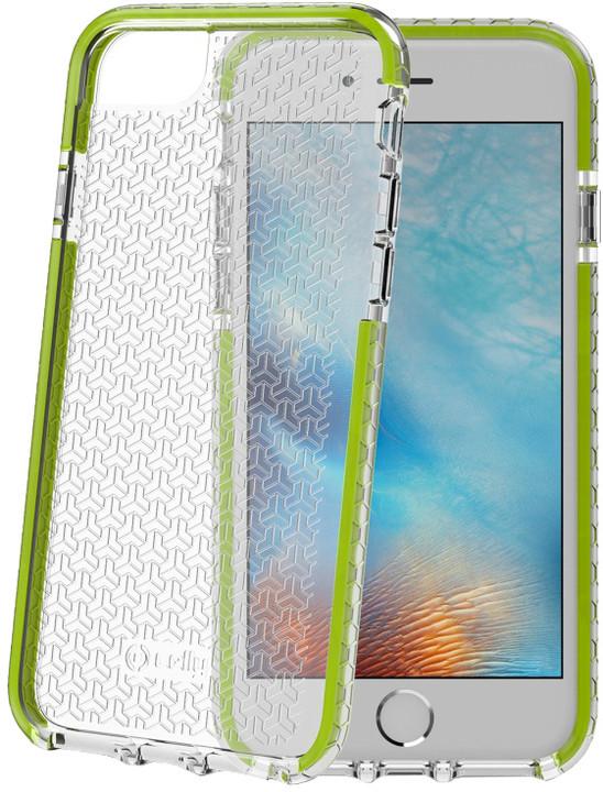 CELLY HEXAGON zadní kryt pro Apple iPhone 7, zelený