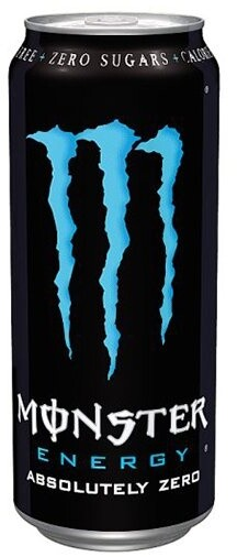 Monster Absolutely Zero, energetický, 500 ml