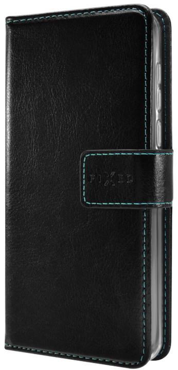 FIXED Opus pouzdro typu kniha pro Huawei P20 Lite, černé