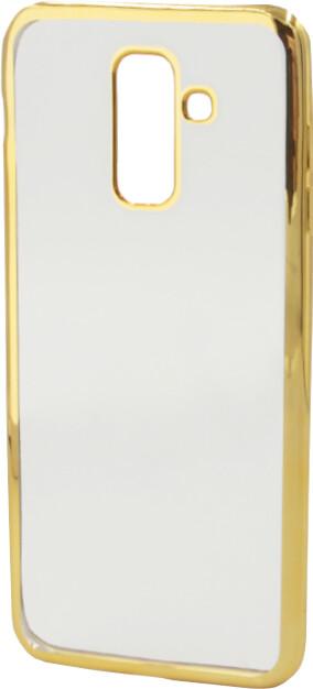 EPICO Pružný plastový kryt pro Samsung Galaxy A6+ (2018) BRIGHT, zlatý